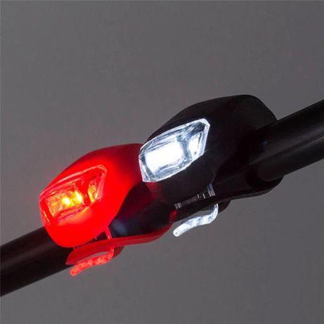 Светлини за колело - водоустойчиви LED фар и стоп за велосипед