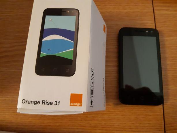 Smartphone Orange Rise 31 Black +cadou ochelari VR sau schimb