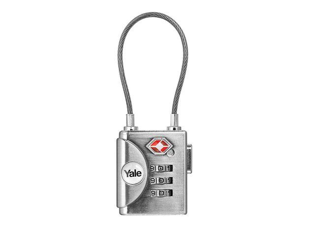 Lacăt Yale cu cifru (încuietoare, cablu, TSA), nefolosit