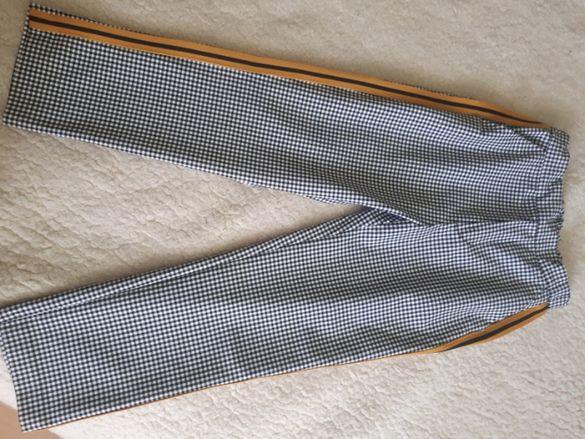 Кариран панталон Zara