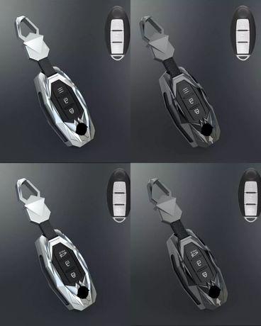 Калъф за ключ Nissan Qashqai X-Trail Tiida Pathfinder Murano Versa Juk
