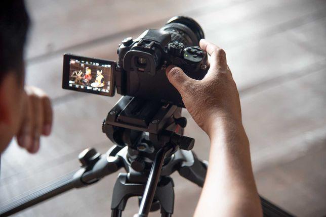 Предоставляем услуги профессиональной видео-съемки/у нас есть обучение