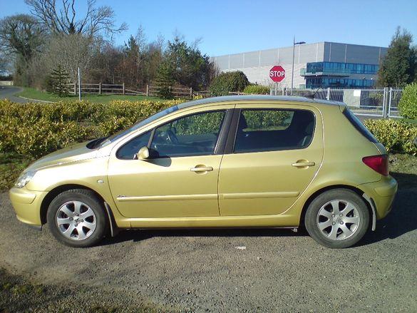 Части за Peugeot 307.1.4 бензин хечбек и 2.0 Hdi, 2004г комби