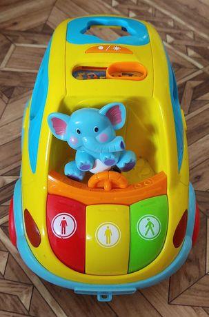 Автошка. Детская машинка-развивашка.
