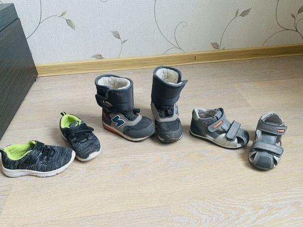 Продам фирменные сандали, кроссовки, зимние сапоги/дутыщи