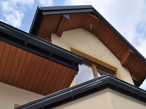 Покриви Стрехи обшиване PVC, метал имитиращ дърво ТЕМПО 1918