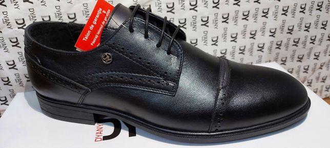 Pantofi barbati model 203 N șiret  piele naturala interior exterior