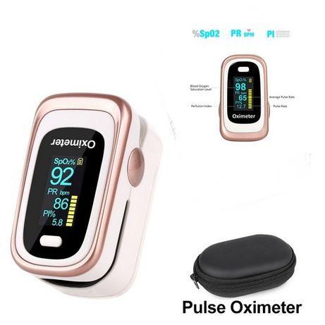 Pulsoximetru Oximetru Finger Pulse Oximeter + Mini Portofel - 374GR