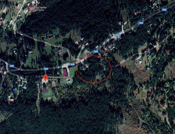 Teren intravilan in statiunea Muntele Baisorii, vedere panoramica