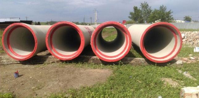 Tuburi beton armat noii și recuperate