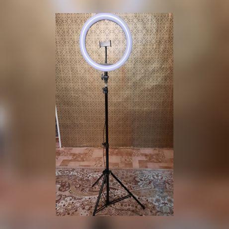 Лампа штатив для фото и видео