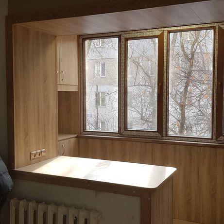 Остекление балкона качественно