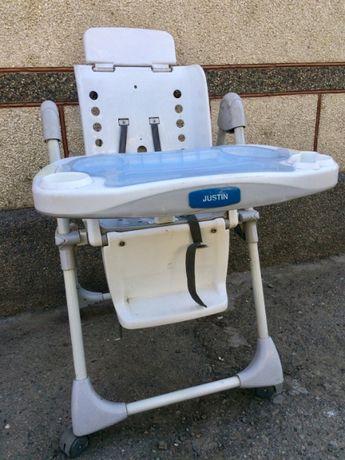 Срочно продам детский стульчик для кормления ребенка от Justin.