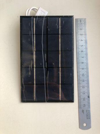 Солнечная панель 5 V -5 ват с USB