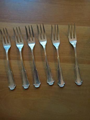 6 furculite argint
