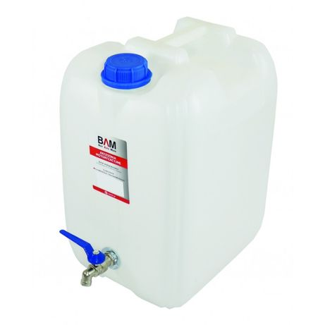 20 лт, Туба за вода с метално кранче, туба за вода 20 литра