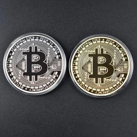 Vand monede comemorative Bitcoin