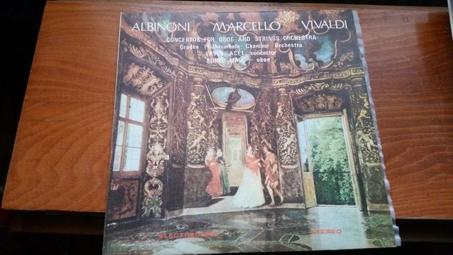 Vinyl de colectie - Albinoni Marcello Vivaldi - Concertos for Oboe