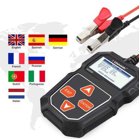 Tester de baterie acumulator auto KONNWEI KW208