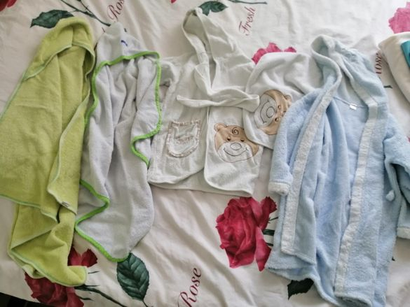 Халати и хавлийки за бебе