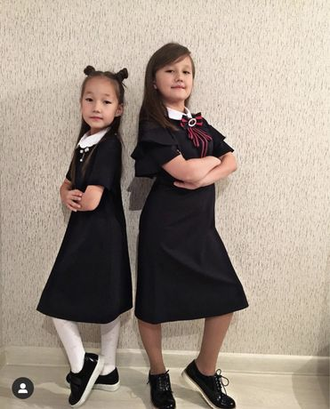 Платье для школы. Сарафан. Школьная форма.