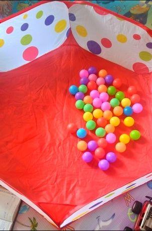 Новый сухой бассейн с шариками