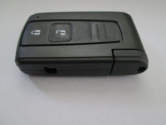 Кутийка за смарт ключ Toyota (Corolla Verso/Prius/Camry)!