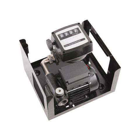 Pompa transfer motorina 100L/MIN cu contor si filtru decantor