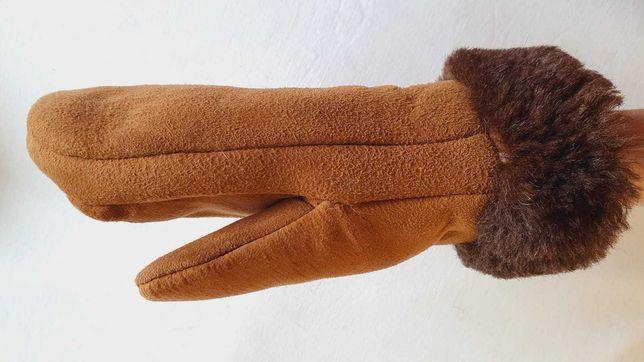 Mânuși Noi cojoc piele blană naturală