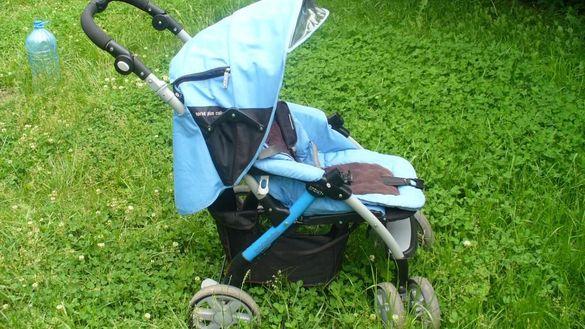 полска бебешка количка 2 в 1 baby design