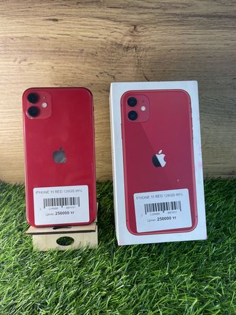 Iphone 11 red 128gb 99%