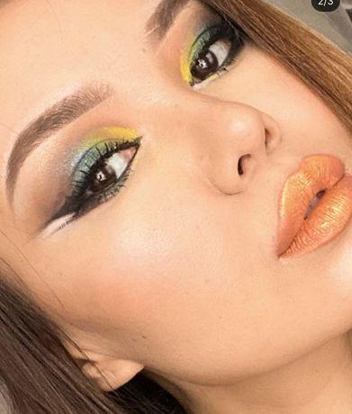 Макияж локоны прически визаж makeup мейк мейкап грим обучение