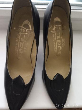 Продам туфли, натуральная кожа