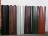 Gard metalic sipca 0.60 mm/ profil jaluzea dublu vopsit