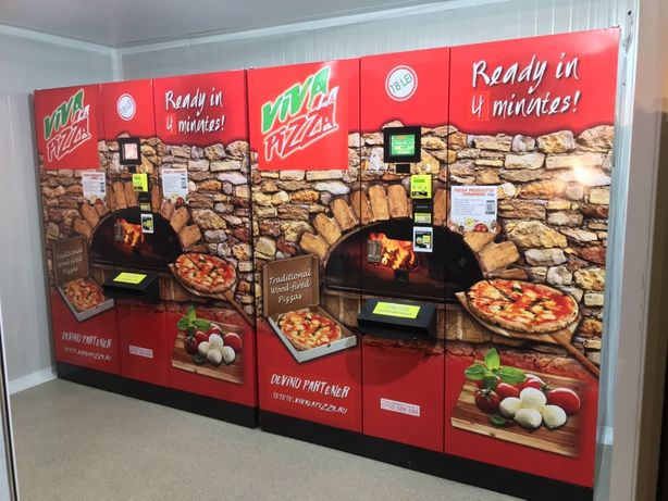 Vand Afacere - Automate pizza