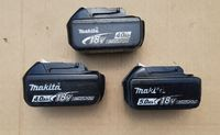 Батерии на Makita 18V/4Ah и 5Ah