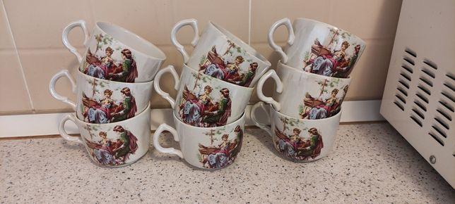 Чайные кружки 9 штук