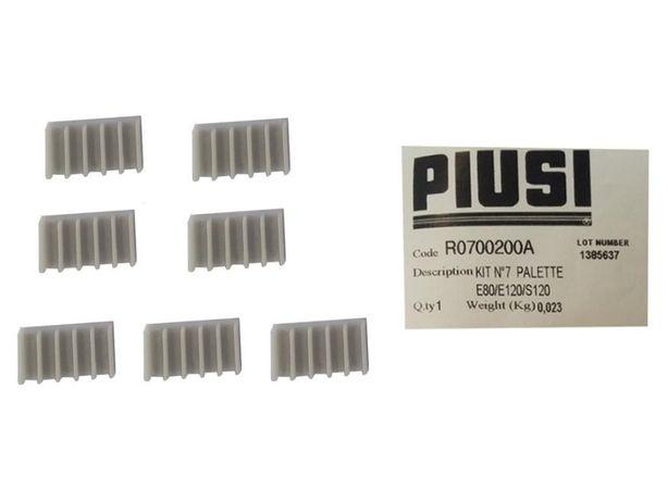 Paleti pentru pompe E80/E120 Piusi