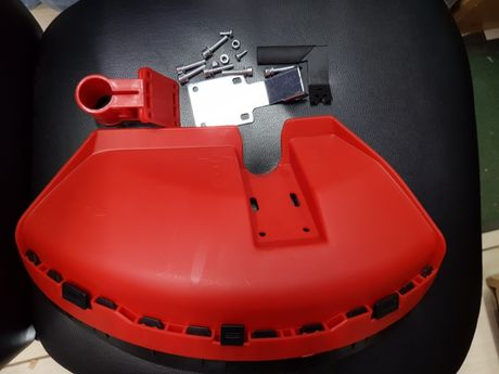 Carcasa protectie motocoasa (complet) 26mm