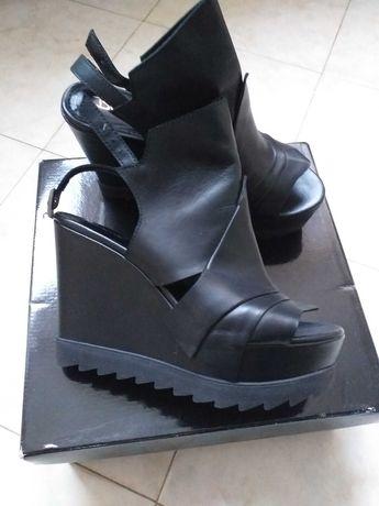 Дамски сандали с платформа 38 н-р.