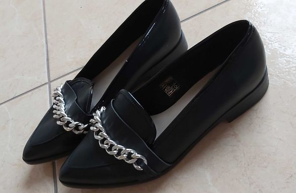 Дамски маркови обувки,естествена кожа,н.37