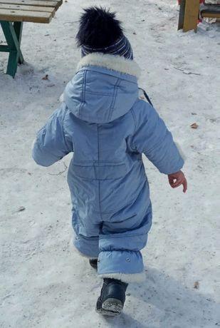 Детский зимний комбинезон+ШАПКА в подарок