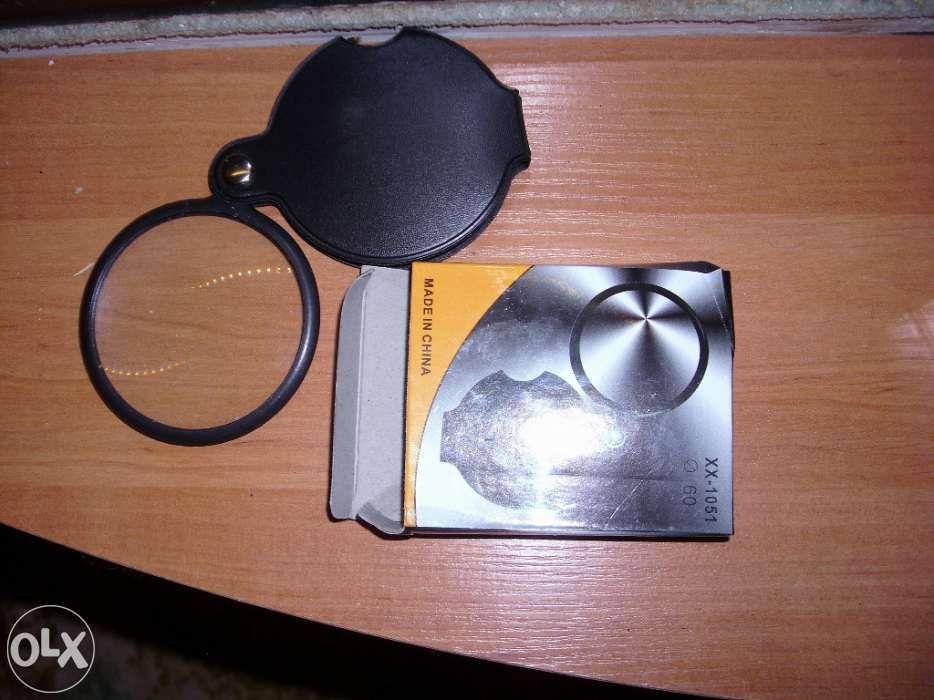 Lupa, cu husa de protectie  - diametru lupa: 60mm