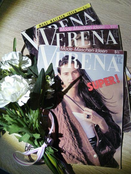лот списания VERENA 1990, 1992 г.