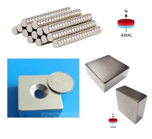Мощни неодимови супер силни магнити N52 Neodymium Magnets NdFeB Neo