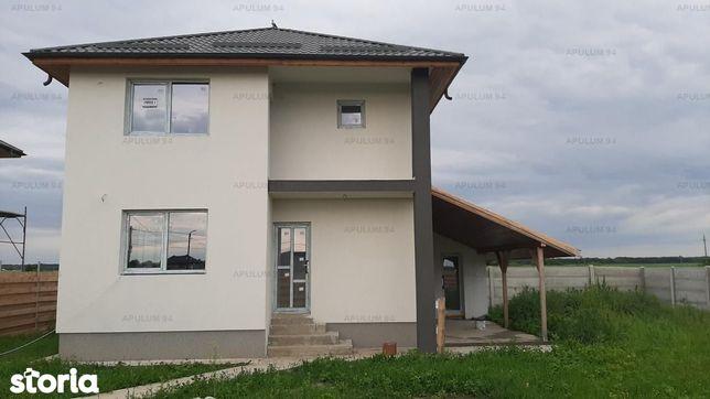 Casa noua P+1+pod, curte 490, Sabareni