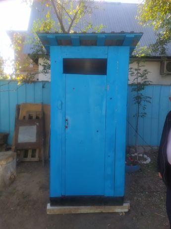 Новый дачный туалет