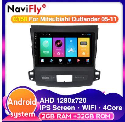 Navigatie Mitsubishi Outlander 2 GB/Android 10, Display 9 Inc,sim net