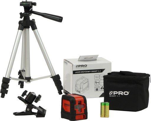 (PROMOTIE) Nivela Laser Smart 1.1 PRO + Trepied telescopic 120cm