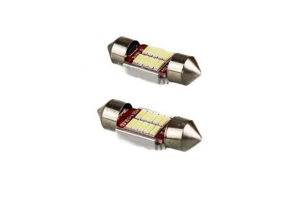LED Крушки за Автомобил 12V /Сулфидни 2бр.31мм.